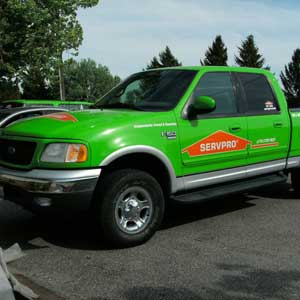 ServPro Truck